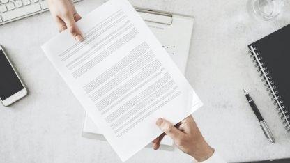 Servicio de elaboración de Carta Opinión